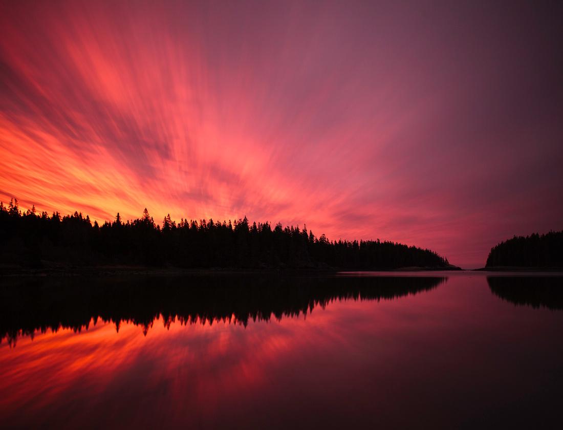 Ship Harbor Sunrise Acadia National Park