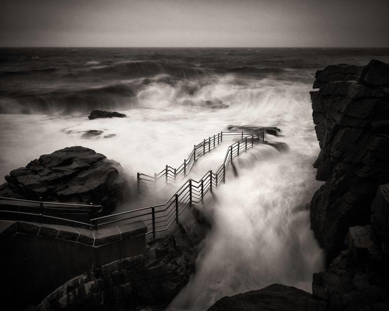 Thunder Hole Storm Waves