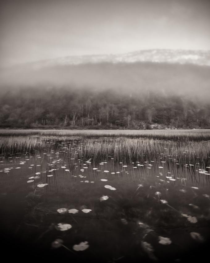 The Tarn in the Fog