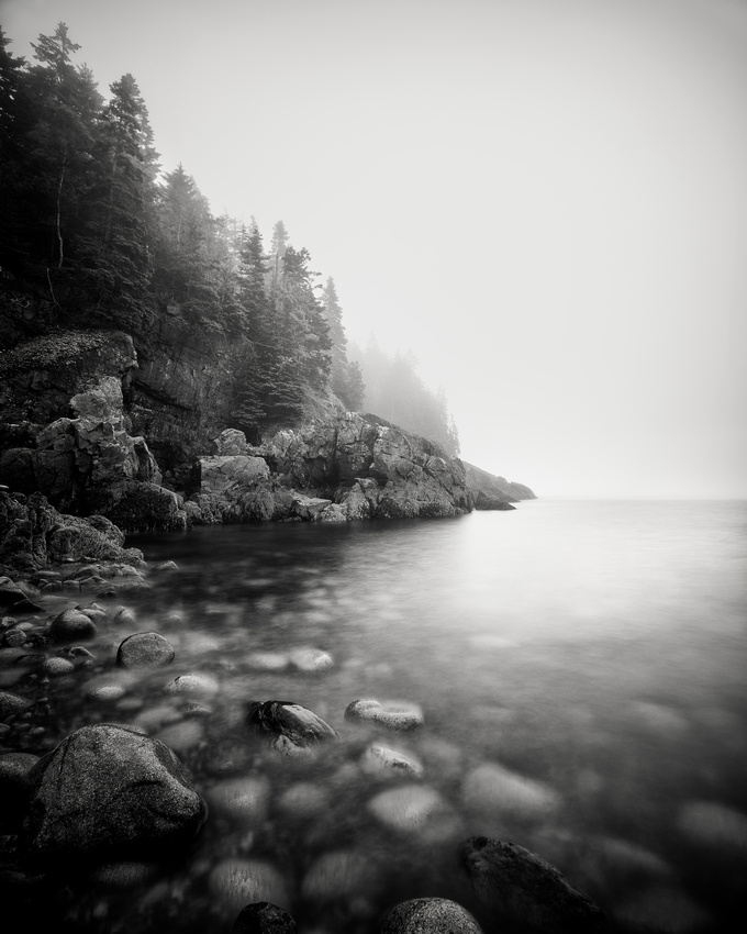Hunter Beach in the Fog